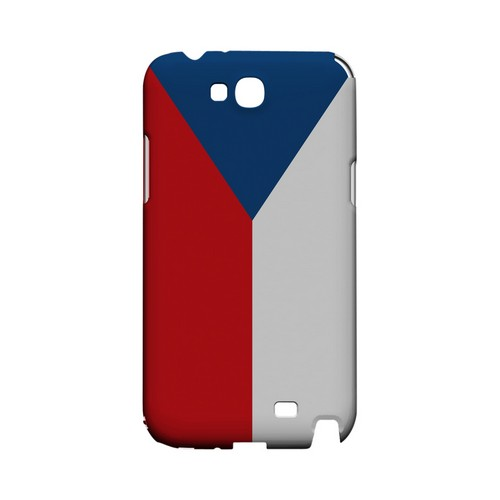 Czech Republic Geeks Designer Line Flag Series Slim Hard Case for Samsung Galaxy Note 2