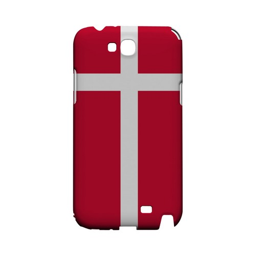 Denmark Geeks Designer Line Flag Series Slim Hard Case for Samsung Galaxy Note 2
