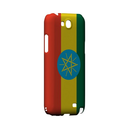 Ethiopia Geeks Designer Line Flag Series Slim Hard Case for Samsung Galaxy Note 2
