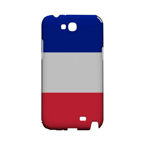 France Geeks Designer Line Flag Series Slim Hard Case for Samsung Galaxy Note 2