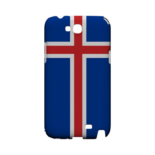 Iceland Geeks Designer Line Flag Series Slim Hard Case for Samsung Galaxy Note 2