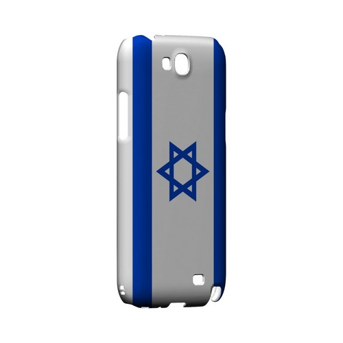 Israel Geeks Designer Line Flag Series Slim Hard Case for Samsung Galaxy Note 2