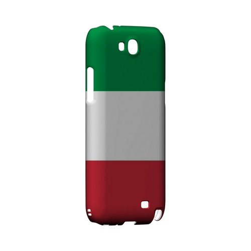 Italy Geeks Designer Line Flag Series Slim Hard Case for Samsung Galaxy Note 2