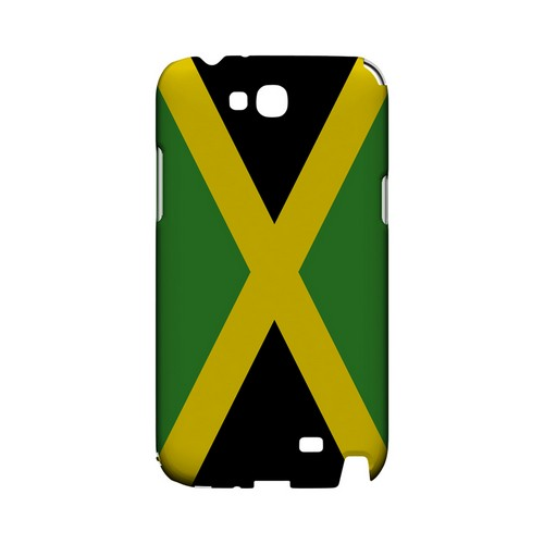Jamaica Geeks Designer Line Flag Series Slim Hard Case for Samsung Galaxy Note 2
