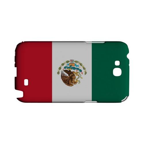 Mexico Geeks Designer Line Flag Series Slim Hard Case for Samsung Galaxy Note 2