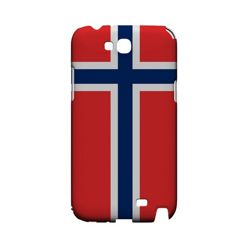 Norway Geeks Designer Line Flag Series Slim Hard Case for Samsung Galaxy Note 2