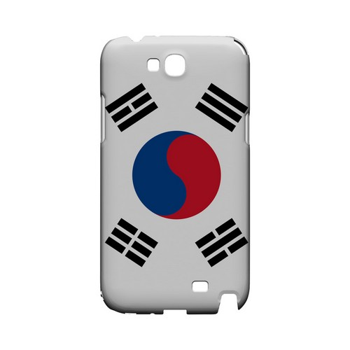 South Korea Geeks Designer Line Flag Series Slim Hard Case for Samsung Galaxy Note 2
