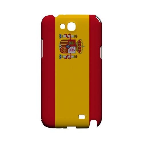 Spain Geeks Designer Line Flag Series Slim Hard Case for Samsung Galaxy Note 2