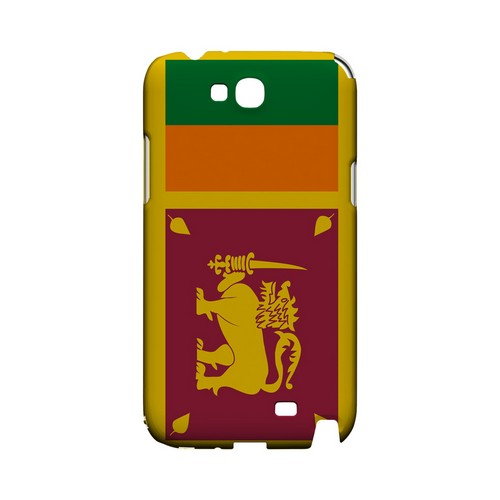 Sri Lanka Geeks Designer Line Flag Series Slim Hard Case for Samsung Galaxy Note 2