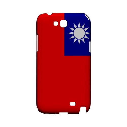 Taiwan Geeks Designer Line Flag Series Slim Hard Case for Samsung Galaxy Note 2