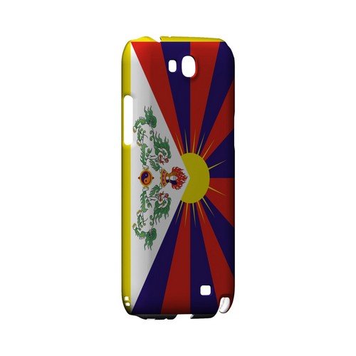 Tibet Geeks Designer Line Flag Series Slim Hard Case for Samsung Galaxy Note 2