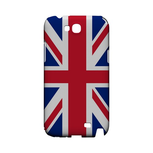 United Kingdom Geeks Designer Line Flag Series Slim Hard Case for Samsung Galaxy Note 2