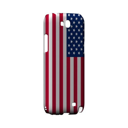United States Geeks Designer Line Flag Series Slim Hard Case for Samsung Galaxy Note 2