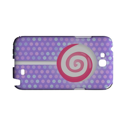 Pink Lollipop Geeks Designer Line Candy Series Slim Hard Back Cover for Samsung Galaxy Note 2