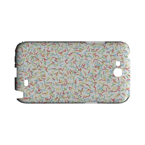 SPRINKLES! Geeks Designer Line Candy Series Slim Hard Back Cover for Samsung Galaxy Note 2