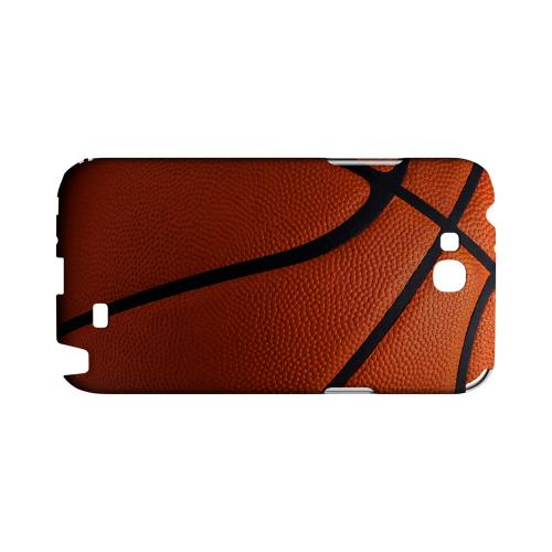 Basketball Geeks Designer Line Sports Series Slim Hard Case for Samsung Galaxy Note 2