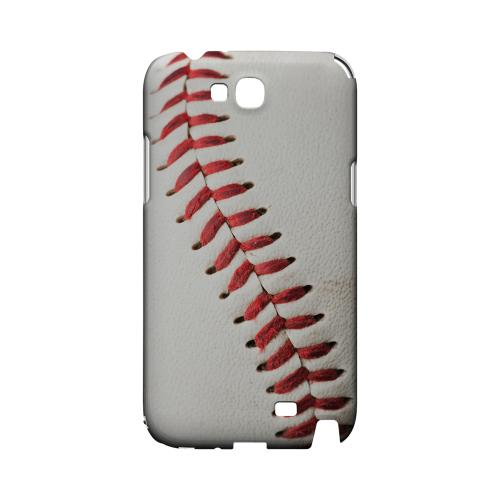Baseball Geeks Designer Line Sports Series Slim Hard Case for Samsung Galaxy Note 2