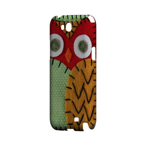 Red/ Orange Owl Geek Nation Program Exclusive Jodie Rackley Series Hard Case for Samsung Galaxy Note 2