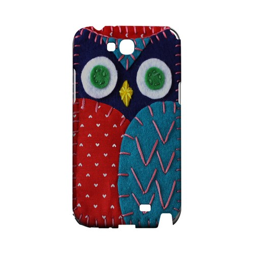 Dark Blue/ Red Owl Geek Nation Program Exclusive Jodie Rackley Series Hard Case for Samsung Galaxy Note 2