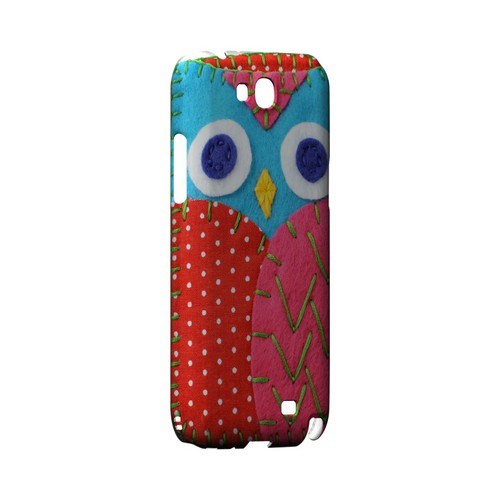 Sky Blue/ Pink Owl Geek Nation Program Exclusive Jodie Rackley Series Hard Case for Samsung Galaxy Note 2