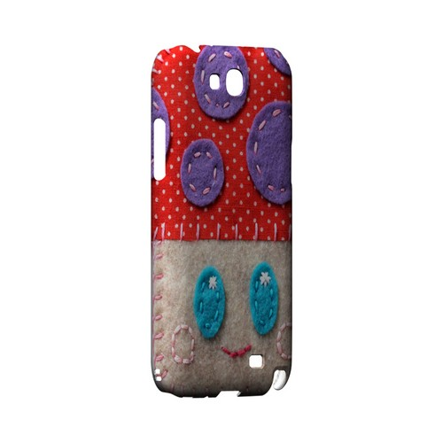 Red/ Purple Mushroom Geek Nation Program Exclusive Jodie Rackley Series Hard Case for Samsung Galaxy Note 2