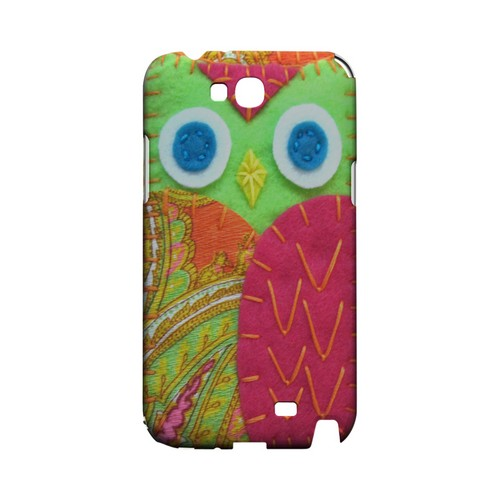 Neon Green/ Pink Geek Nation Program Exclusive Jodie Rackley Series Hard Case for Samsung Galaxy Note 2