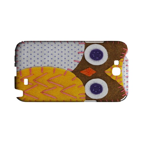 Brown/ Orange Owl Geek Nation Program Exclusive Jodie Rackley Series Hard Case for Samsung Galaxy Note 2