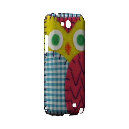 Yellow/ Maroon Owl Geek Nation Program Exclusive Jodie Rackley Series Hard Case for Samsung Galaxy Note 2