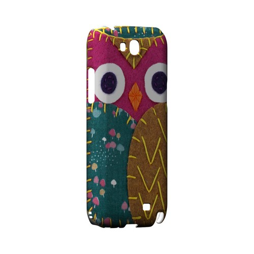 Hot Pink/ Brown Owl Geek Nation Program Exclusive Jodie Rackley Series Hard Case for Samsung Galaxy Note 2