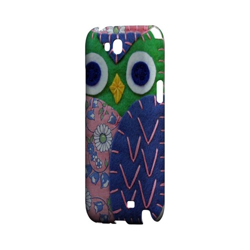 Green/ Blue Owl Geek Nation Program Exclusive Jodie Rackley Series Hard Case for Samsung Galaxy Note 2