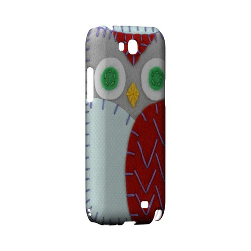 Gray/ Red Owl Geek Nation Program Exclusive Jodie Rackley Series Hard Case for Samsung Galaxy Note 2