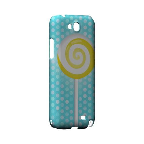 Yellow Lollipop Geeks Designer Line Candy Series Slim Hard Back Cover for Samsung Galaxy Note 2