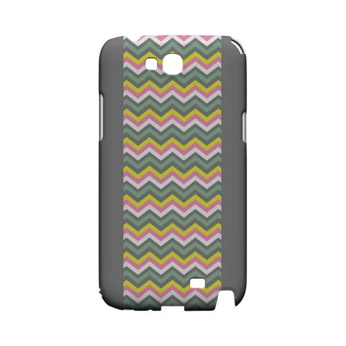 Pink/ Yellow/ Gray/ Green Geeks Designer Line Zig Zag Series Slim Hard Case for Samsung Galaxy Note 2