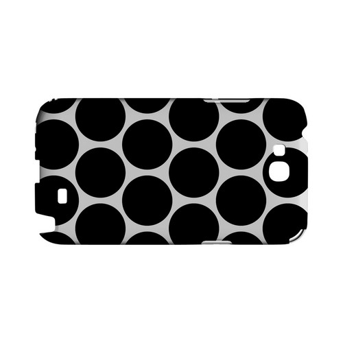 Big & Black Geeks Designer Line Polka Dot Series Slim Hard Case for Samsung Galaxy Note 2