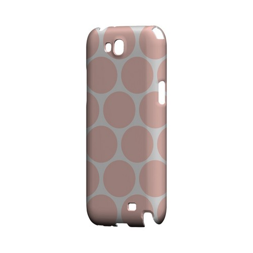 Big & Baby Pink Geeks Designer Line Polka Dot Series Slim Hard Case for Samsung Galaxy Note 2
