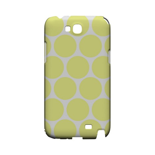 Big & Yellow Geeks Designer Line Polka Dot Series Slim Hard Case for Samsung Galaxy Note 2