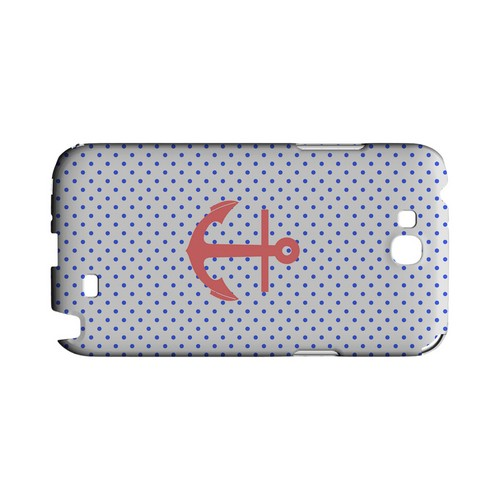 Anchor Geeks Designer Line Polka Dot Series Slim Hard Case for Samsung Galaxy Note 2