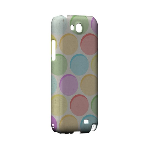 Grungy & Rainbow Geeks Designer Line Polka Dot Series Slim Hard Case for Samsung Galaxy Note 2