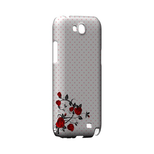 Rose Vine Geeks Designer Line Polka Dot Series Slim Hard Case for Samsung Galaxy Note 2