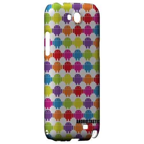 Rainbow Robot Army Design Geeks Designer Line Androitastic Series Slim Hard Back Cover for Samsung Galaxy Note 2