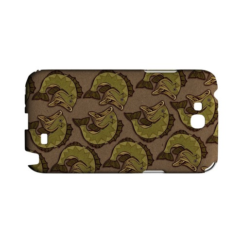 Large Mouth Bass Design - Geeks Designer Line (GDL) Fish Series Hard Back Cover for Samsung Galaxy Note 2