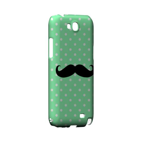 Stache on Mint Geeks Designer Line Polka Dot Series Slim Hard Case for Samsung Galaxy Note 2
