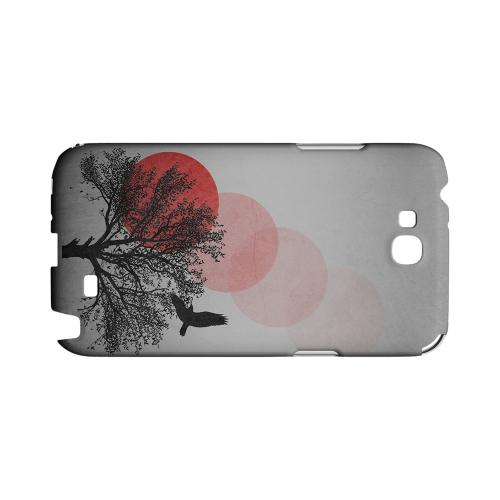 Sunset Fade Geeks Designer Line Polka Dot Series Slim Hard Case for Samsung Galaxy Note 2