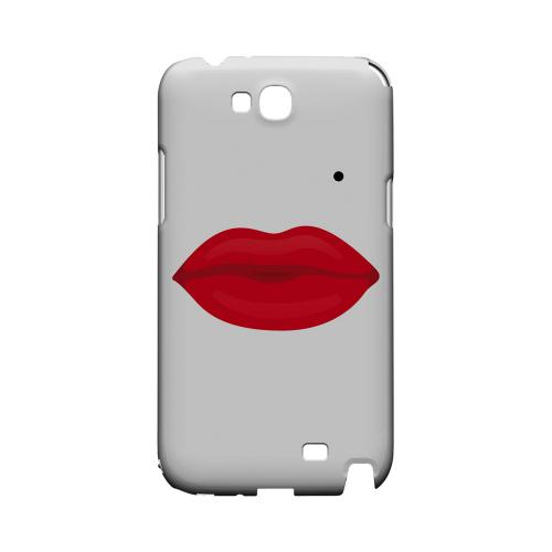 Glamour Lips Geeks Designer Line Heart Series Slim Hard Case for Samsung Galaxy Note 2