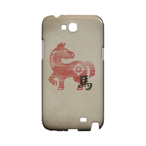 Grunge Horse Geeks Designer Line Chinese Horoscope Series Slim Hard Case for Samsung Galaxy Note 2