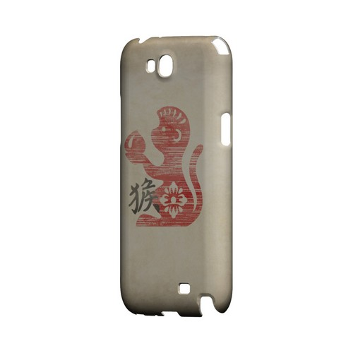 Grunge Monkey Geeks Designer Line Chinese Horoscope Series Slim Hard Case for Samsung Galaxy Note 2