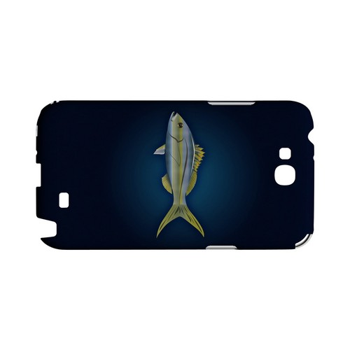 Yellowtail - Geeks Designer Line (GDL) Fish Series Hard Back Cover for Samsung Galaxy Note 2