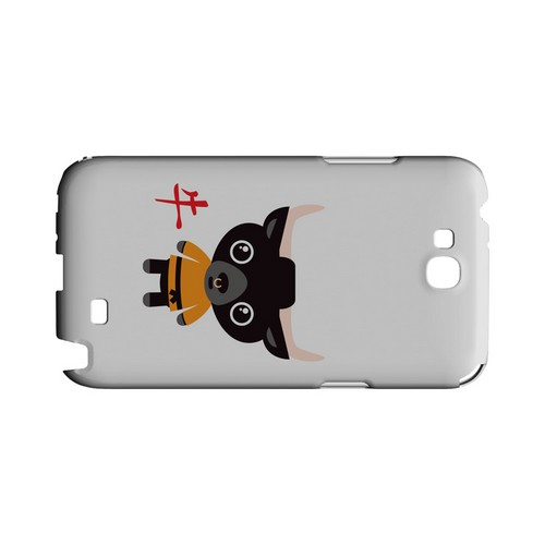 Ox on White Geeks Designer Line Chinese Horoscope Series Slim Hard Case for Samsung Galaxy Note 2