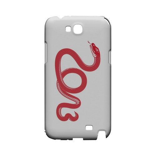 Red Snake Geeks Designer Line Chinese Horoscope Series Slim Hard Case for Samsung Galaxy Note 2