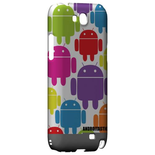 Rainbow Robot Design Geeks Designer Line Androitastic Series Slim Hard Back Cover for Samsung Galaxy Note 2